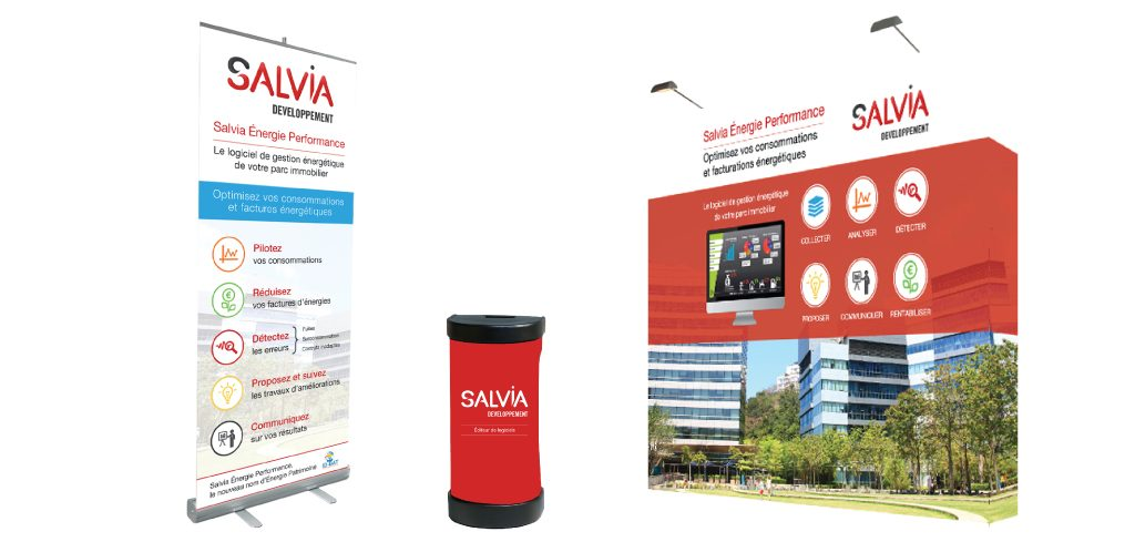 Création du stand Salvia Développement