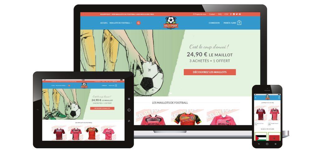 Création site web Kelbyfoot