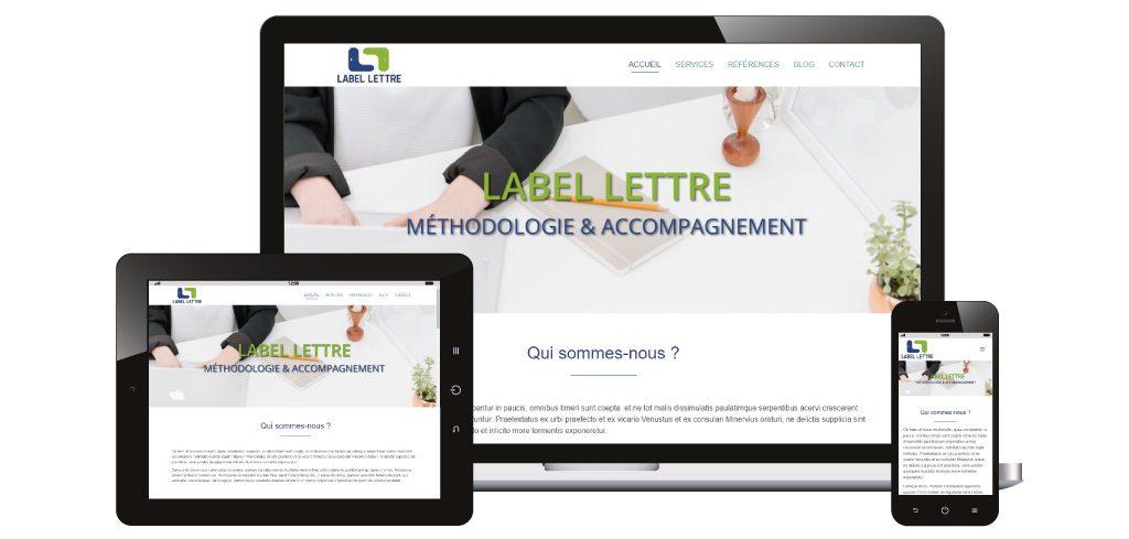 Création site web Labelettre