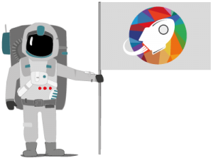 Astronaute Dekolage