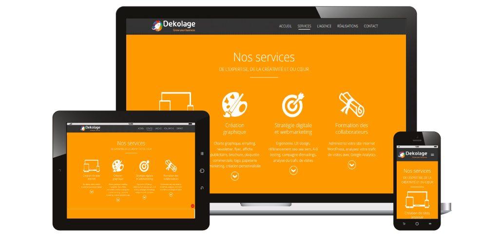 Création site web Dekolage