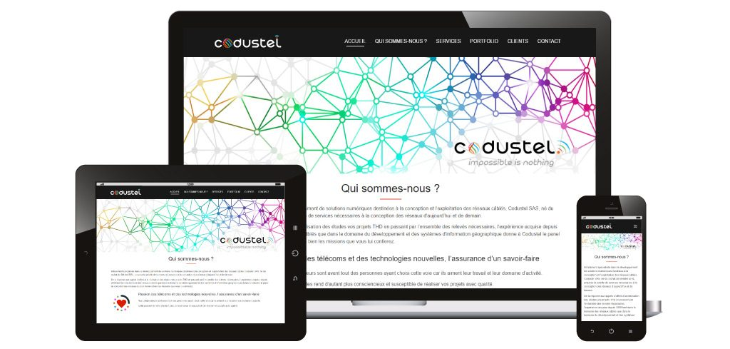 Creation site web codustel