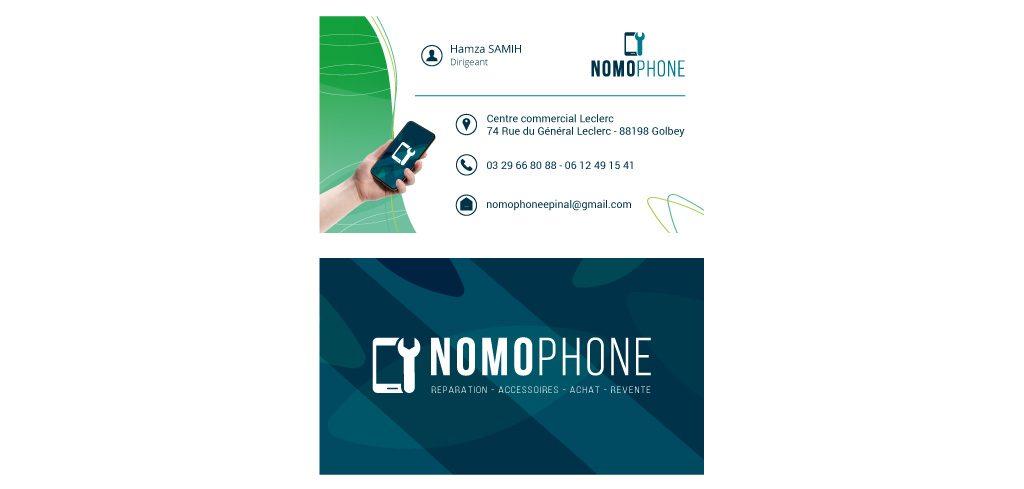 Carte de visite Nomophone